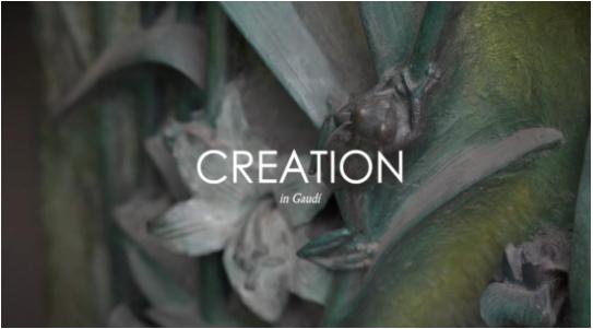 Creation in Gaudí